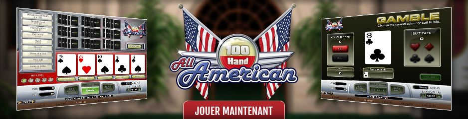 Video Poker en ligne All American