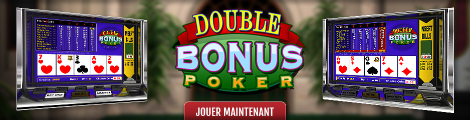 Video Poker en ligne Double Bonus Poker